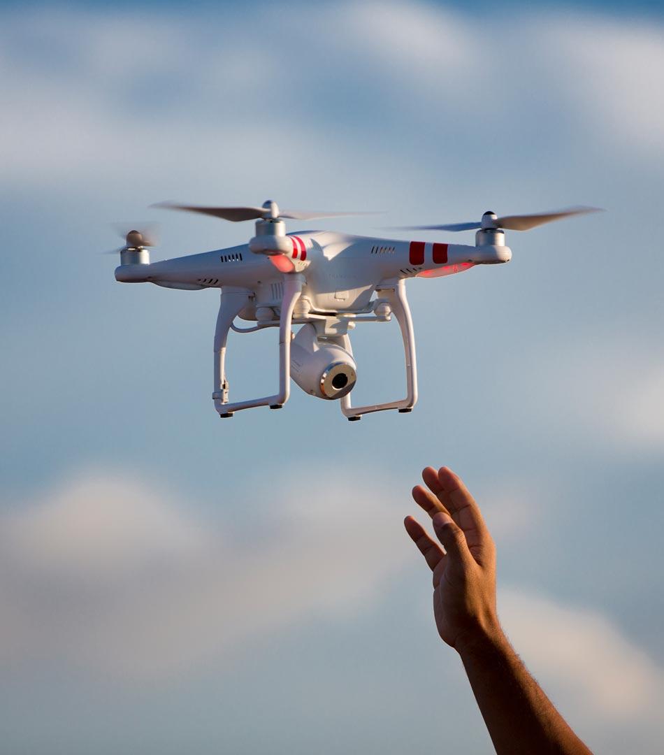 Drone Camera Certified Home Inspector David Geller